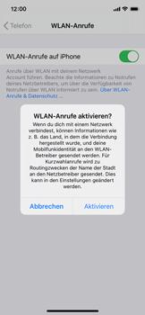 Apple iPhone X - iOS 14 - WiFi - WiFi Calling aktivieren - Schritt 7