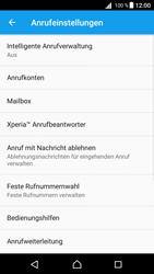 Sony E6653 Xperia Z5 - Anrufe - Rufumleitungen setzen und löschen - 7 / 12