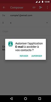 Motorola Moto G6 - E-mails - Envoyer un e-mail - Étape 7