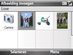 HTC S521 Snap - E-mail - E-mails verzenden - Stap 11