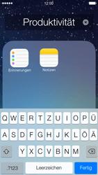Apple iPhone 5 iOS 7 - Startanleitung - Personalisieren der Startseite - Schritt 6