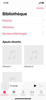 Apple iPhone 11 Pro - Photos, vidéos, musique - Ecouter de la musique - Étape 4