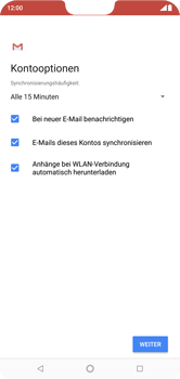 Nokia 6.1 Plus - E-Mail - Konto einrichten (outlook) - 10 / 15