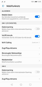 Huawei P20 Pro - Internet und Datenroaming - Prüfen, ob Datenkonnektivität aktiviert ist - Schritt 6