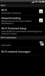 HTC S510e Desire S - wifi - handmatig instellen - stap 8