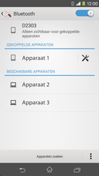 Sony Xperia M2 - bluetooth - headset, carkit verbinding - stap 8