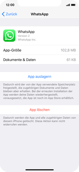 Apple iPhone X - Apps - Apps deinstallieren - 6 / 8