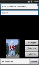 Samsung Galaxy S - MMS - Erstellen und senden - 12 / 15