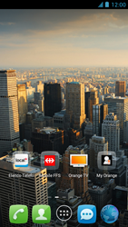 Alcatel One Touch Idol - Operazioni iniziali - Installazione di widget e applicazioni nella schermata iniziale - Fase 9