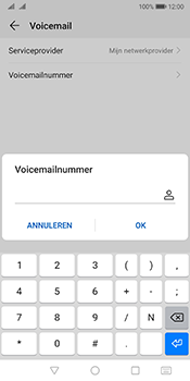 Huawei mate-10-pro-dual-sim-model-bla-l29-android-pie - Voicemail - Handmatig instellen - Stap 8
