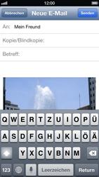 Apple iPhone 5 - E-Mail - E-Mail versenden - Schritt 9