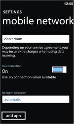 Nokia Lumia 710 - Internet - Manual configuration - Step 7