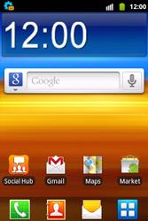 Samsung S5690 Galaxy Xcover - internet - automatisch instellen - stap 3