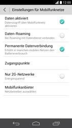 Huawei Ascend P6 - Internet und Datenroaming - Prüfen, ob Datenkonnektivität aktiviert ist - Schritt 6