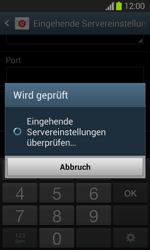 Samsung Galaxy Trend Lite - E-Mail - Manuelle Konfiguration - Schritt 11