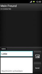 Sony Xperia J - MMS - Erstellen und senden - Schritt 12