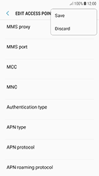 Samsung A320F Galaxy A3 (2017) - Android Oreo - Internet - Manual configuration - Step 16