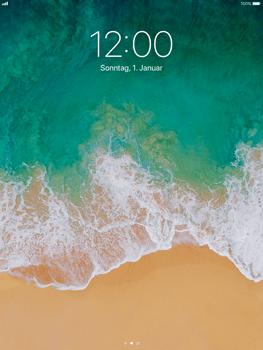 Apple iPad Air iOS 11 - Gerät - Einen Soft-Reset durchführen - Schritt 4