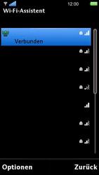 Sony Ericsson U5i Vivaz - WLAN - Manuelle Konfiguration - 0 / 0