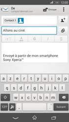Sony E2003 Xperia E4G - E-mail - envoyer un e-mail - Étape 8