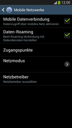 Samsung Galaxy S 4 Active - Internet und Datenroaming - Deaktivieren von Datenroaming - Schritt 6