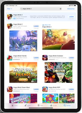 Apple iPad 9.7 (2018) - iPadOS 13 - Apps - Installieren von Apps - Schritt 12