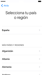 Apple iPhone SE iOS 10 - Primeros pasos - Activar el equipo - Paso 7