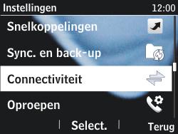 Nokia Asha 201 - bluetooth - aanzetten - stap 4