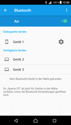 Sony Xperia Z5 (E6653) - Android Nougat - Bluetooth - Geräte koppeln - Schritt 10
