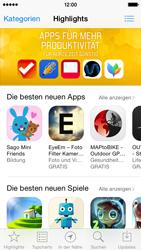 Apple iPhone 5S mit iOS 8 - Apps - Konto anlegen und einrichten - Schritt 15