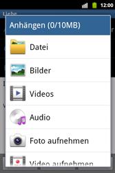 Samsung Galaxy Xcover - E-Mail - E-Mail versenden - 0 / 0