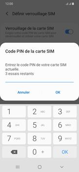 Samsung Galaxy A20e - Sécurité - modifier SIM PIN - Étape 9