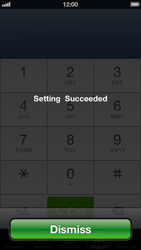 Apple iPhone 5 - Voicemail - Manual configuration - Step 7