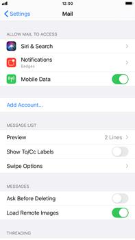 Apple iPhone 8 Plus - iOS 14 - E-mail - manual configuration - Step 4