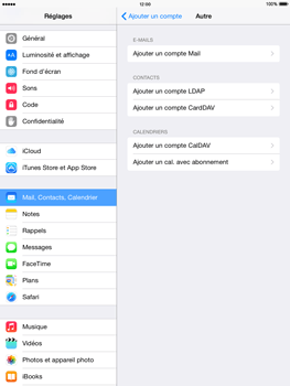 Apple iPad mini - iOS 8 - E-mail - configuration manuelle - Étape 6