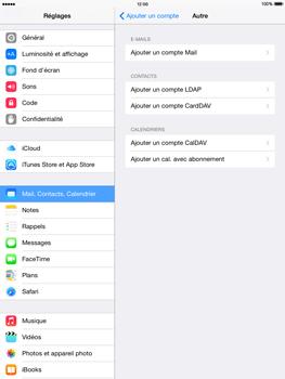 Apple iPad Air iOS 8 - E-mail - configuration manuelle - Étape 10