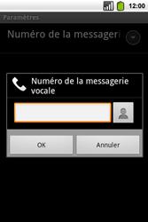 Alcatel OT-991 Smart - Messagerie vocale - Configuration manuelle - Étape 9
