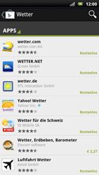 Sony Ericsson Xperia X10 - Apps - Herunterladen - Schritt 12