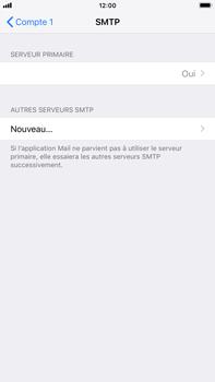 Apple iPhone 8 Plus - iOS 12 - E-mail - Configuration manuelle - Étape 20