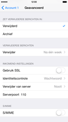 Apple iPhone 6 iOS 8 - E-mail - Account instellen (POP3 met SMTP-verificatie) - Stap 19