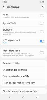 Samsung Galaxy A10 - Internet et connexion - Désactiver la connexion Internet - Étape 5