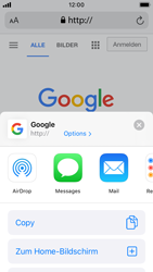 Apple iPhone SE - iOS 13 - Internet und Datenroaming - Verwenden des Internets - Schritt 17