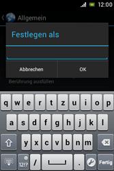 Sony Xperia Miro - Internet - Manuelle Konfiguration - 24 / 26
