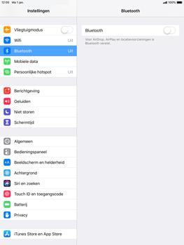 Apple ipad-mini-4-met-ios-12-model-a1550 - Bluetooth - Aanzetten - Stap 3