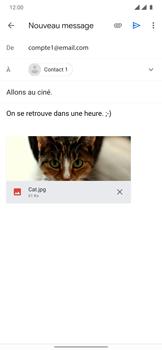 OnePlus 7T Pro - E-mails - Envoyer un e-mail - Étape 15