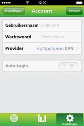Apple iPhone 4S met iOS 5 (Model A1387) - WiFi - KPN Hotspots configureren - Stap 10