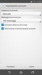 Sony Xperia Z3 - E-mail - configurazione manuale - Fase 16