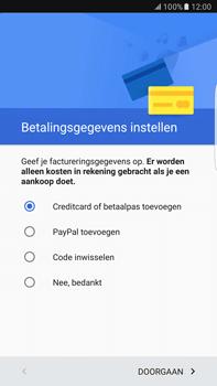 Samsung Samsung Galaxy S6 Edge+ (Android M) - apps - account instellen - stap 18