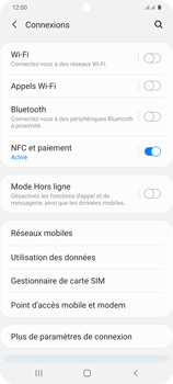 Samsung Galaxy S20+ - Internet et connexion - Accéder au réseau Wi-Fi - Étape 5