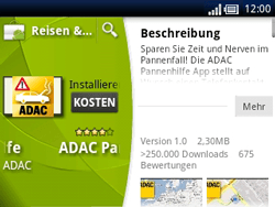 Sony Ericsson Xperia X10 Mini Pro - Apps - Herunterladen - Schritt 19